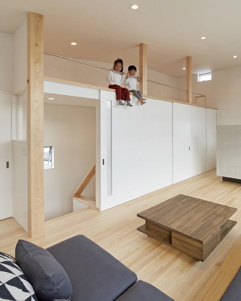 壁一面ガラス張りは圧巻!スタイリッシュな木の家