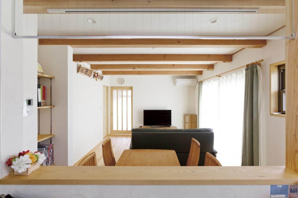 和の木の家にこだわり 夫婦の趣味を楽しむ木の家